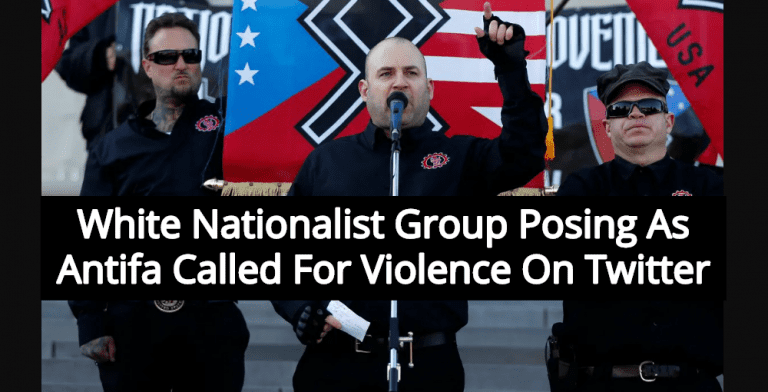 White Nationalists Posing As Antifa Caught Calling For Violence On Twitter (Image via Twitter)