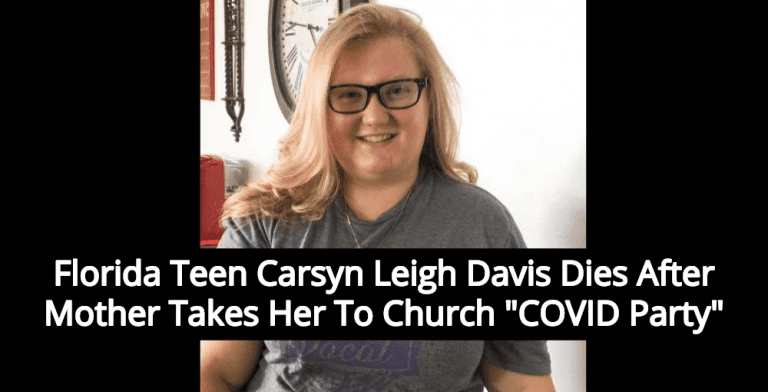 Florida Teen Dies From Virus After Mom Takes Her To Church 'Covid Party' (Image via Twitter)