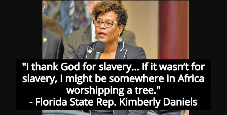 Florida Lawmaker Who Thanks God For Slavery Loses Re-Election Bid (Image via Screen Grab)