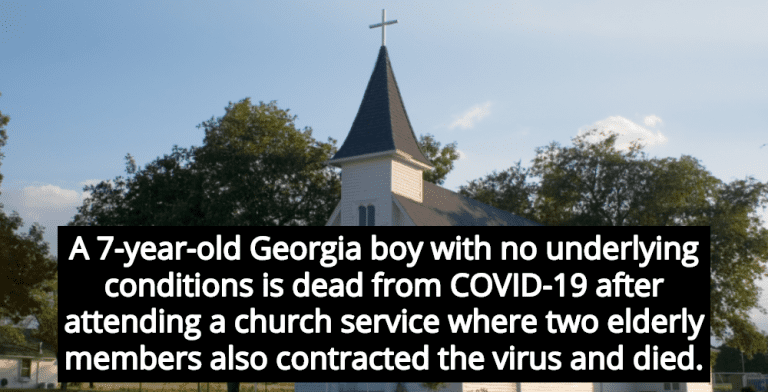 7-Year-Old Dies From COVID-19 After Attending Church With Infected Members (Image via Wikimedia)