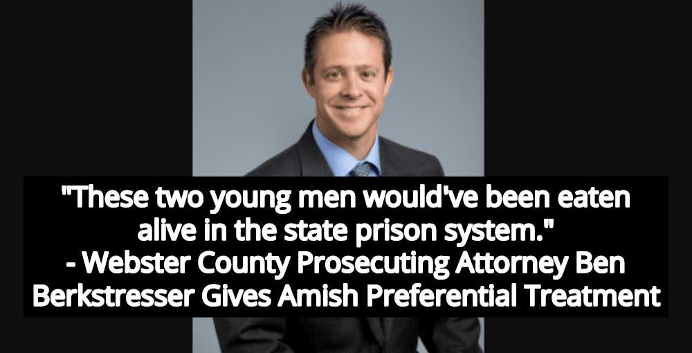 No Jail Time For Adult Amish Brothers Who Repeatedly Raped 13-Year-Old Sister (Image via Webster County)