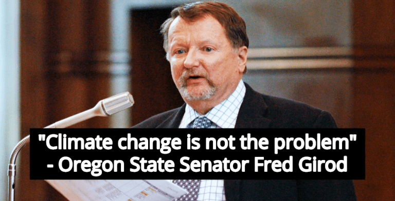 Oregon Senator Who Blocked Climate Change Bill Loses Home In Wildfire (Image via Twitter)