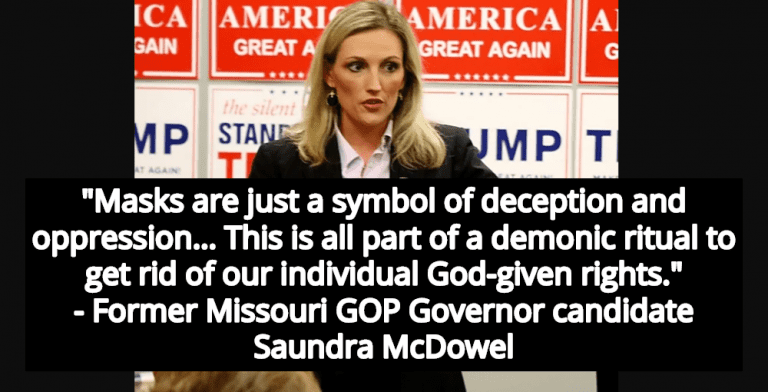 Missouri GOP Governor Candidate Claims Wearing Mask Is 'Demonic Ritual' (Image via Facebook)