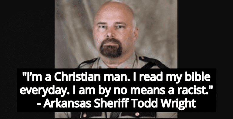 Arkansas Sheriff Forced To Resign For Using Racial Slurs Claims Devil Made Him Do It (Image via Twitter)