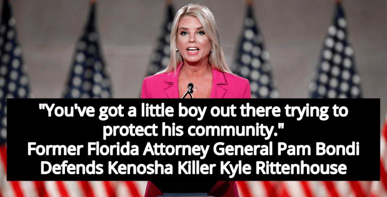 Pam Bondi Praises Kyle Rittenhouse As 'Little Boy' Defending His Community (Image via YouTube)