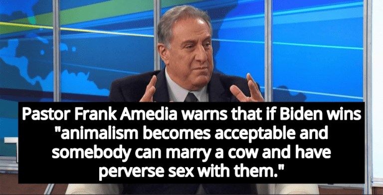 Trump Pastor Claims If Biden Wins People Will Start Having Sex With Cows (Image via Screen Grab)