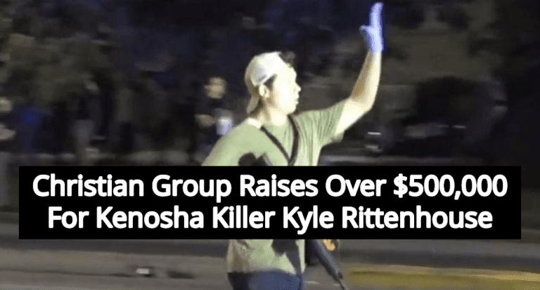 Christian Group Raises Over $500K For Kenosha Killer Kyle Rittenhouse (Image via Twitter)