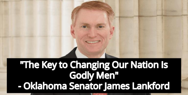 GOP Senator James Lankford: God Wants Christian Men In Government (Image via YouTube)