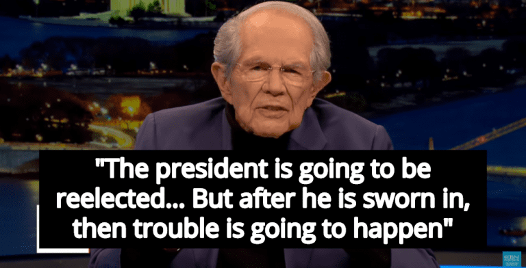 Pat Robertson: Trump Will Win Reelection, And Then The End Times Will Begin (Image via Screen Grab)