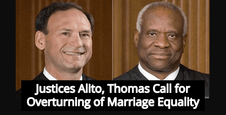 Report: Justices Thomas And Alito Plan To Overturn Same-Sex Marriage (Image via SCOTUS)