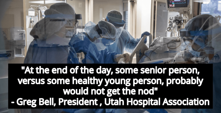 'Death Panels' - Utah Hospitals Prepare To Ration Care As COVID Cases Spike (Image via YouTube)