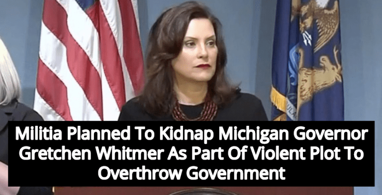 Report: Militia Members Arrested In Plot To Kidnap Michigan Governor Whitmer (Image via Twitter)