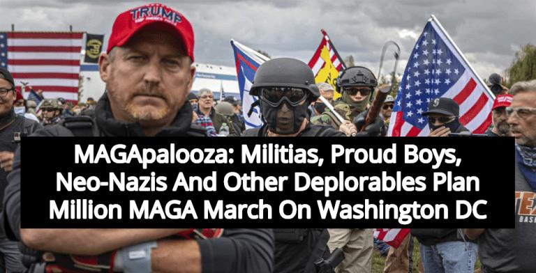 Million MAGA March: Militias, Proud Boys, Neo-Nazis Plan March On DC This Weekend (Image via YouTube)