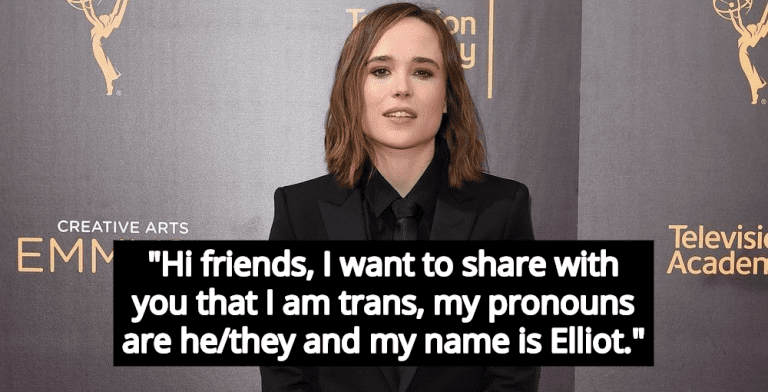 Elliot Page Comes Out As Transgender, Denounces Bigotry Against Trans People