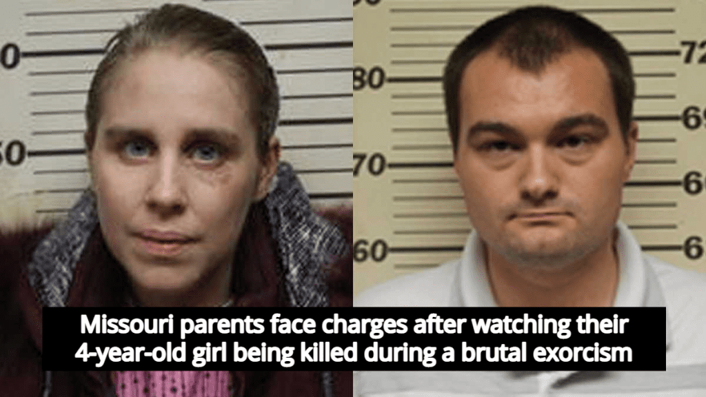 Report: Missouri Parents Watched As Their 4-Year-Old Was Killed During Exorcism (Image via Benton County Sheriff's Department)