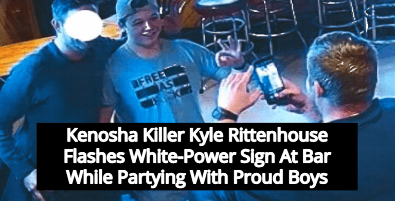 Kenosha Killer Kyle Rittenhouse Parties With Proud Boys While Out On Bond (Image via Kenosha County District Attorney)