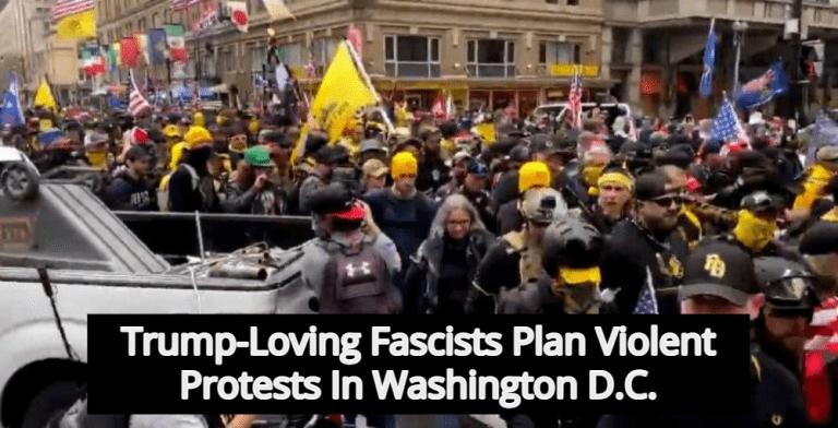 National Guard Activated As Washington D.C. Prepares For Violent Pro-Trump Protests (Image via Twitter)