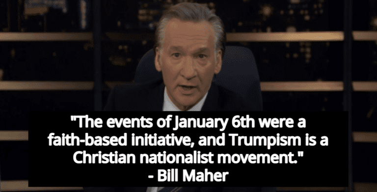 Bill Maher: 'Magical Religious Thinking Is A Virus, QAnon Is Just Its Current Mutation' (Image via Screen Grab)