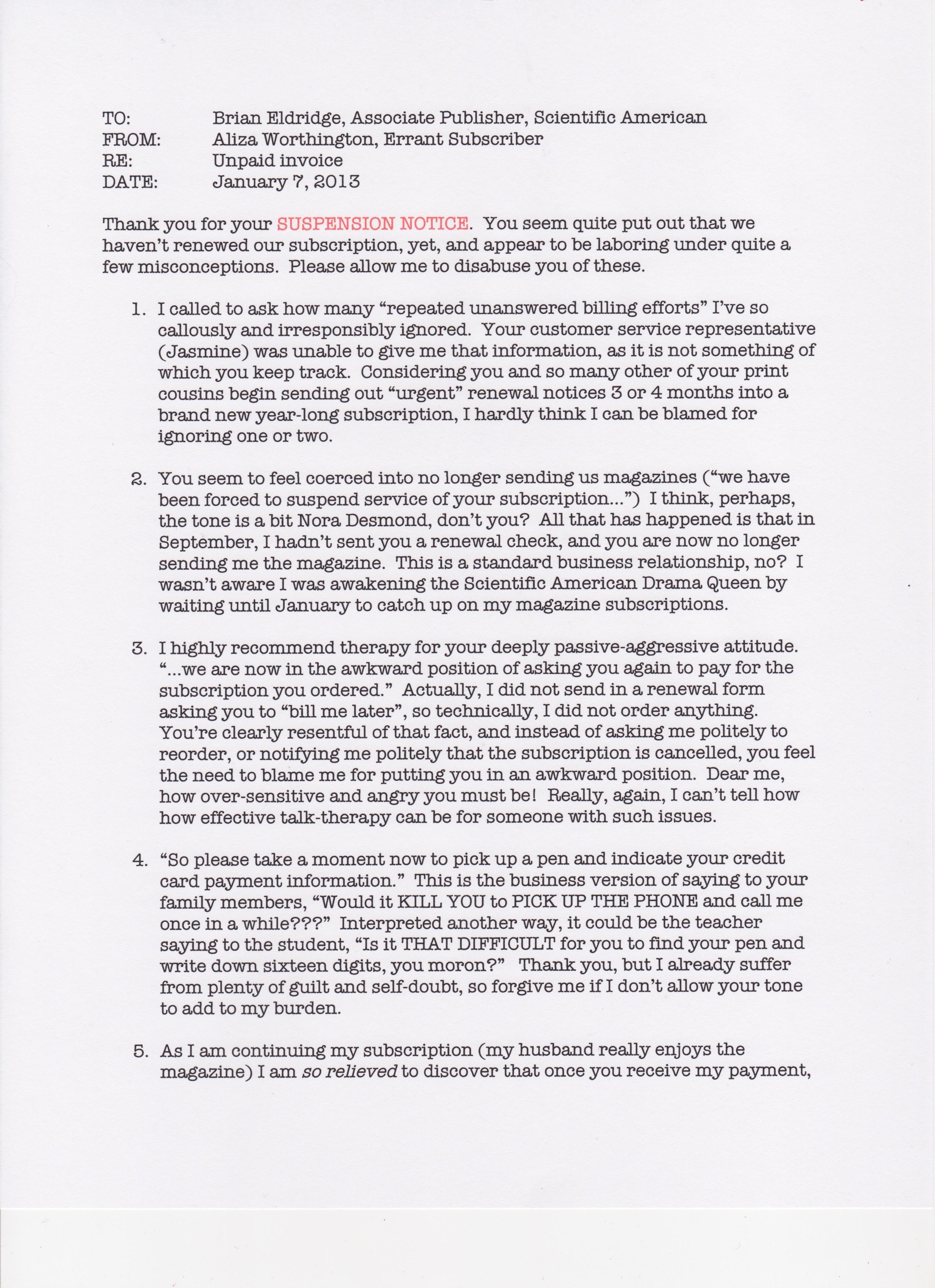 SA Suspension Notice