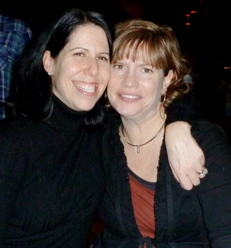 Me and my high school bff at said reunion...