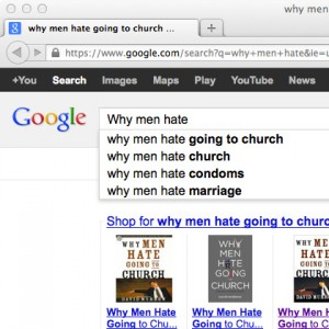 Google search Why Men Hate...