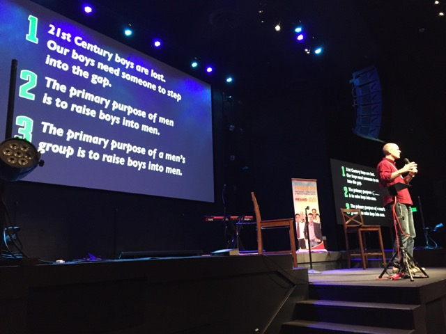 "Tim Wright speaks about society's ""boy crisis"" at Reload 2015."
