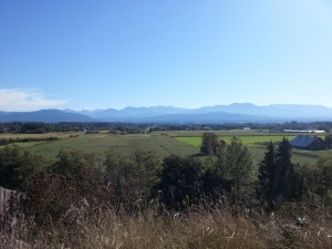 Settler landscape - Dungeness Valley Washington