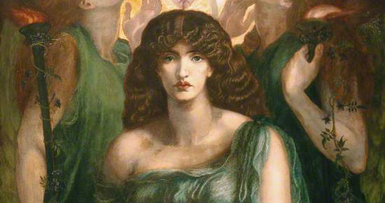 From WikiMedia, Dante Gabriel Rossetti, Astarte Syriaca