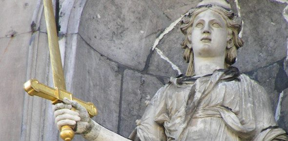 Justitia Goddess of the Resistance