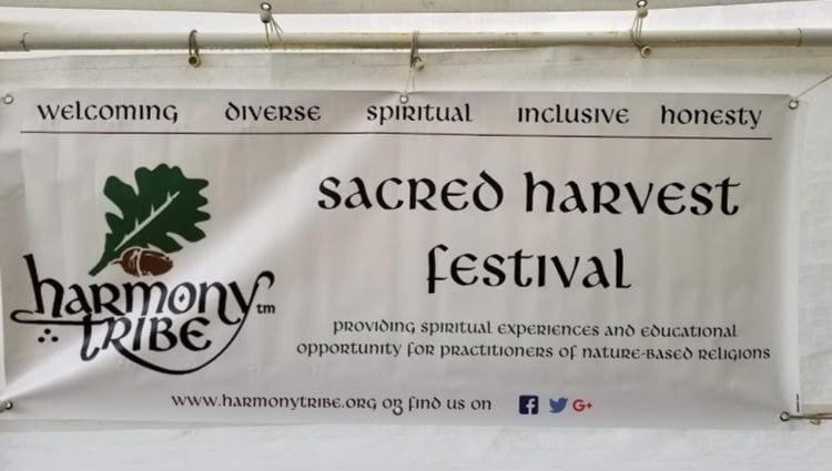 Sacred Harvest Festival Banner