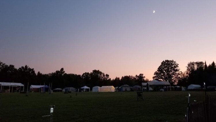 Festival at night