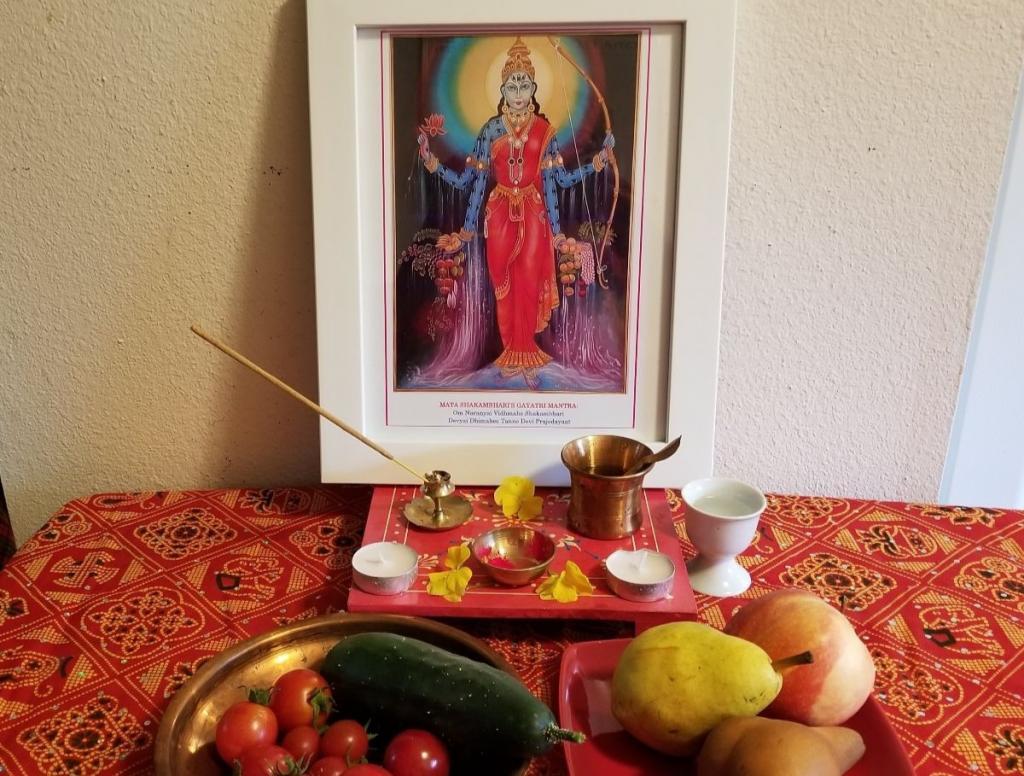 Shatakshi altar