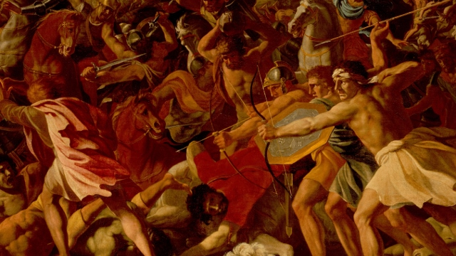Nicolas Poussin, The Victory of Joshua Over the Amalekites (Public Domain: Wikimedia Commons)