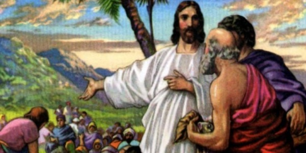 Jesus feeds 5,000 (Photo: Flickr, pcstratman, Creative Commons License, some modifications)