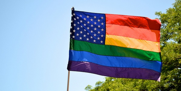 Photo: Flickr, NathanMack87, Rainbow America, Creative Commons License, some changes made.