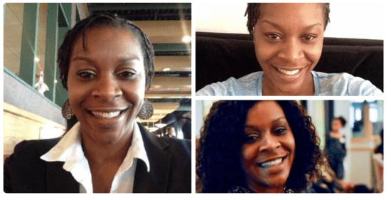 Image via Twitter photos of Sandra Bland.