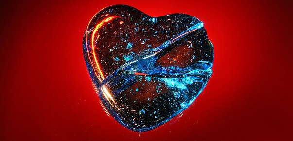 """Photo: Flickr, """"If Your Glass Heart Should Crack,"""" by Chris O'Brian, creative commons license, some changes made."""