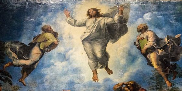 The Transfiguration of Jesus. (Photo: Flickr, Drew Maust, Rafael's Transfiguration, Creative Commons License, some changes made)