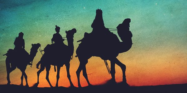 49654807 - three kings desert star of bethlehem nativity concept