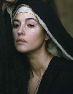 "Mary Magdalen, played by Monica Bellucci in the film ""The Passion"""
