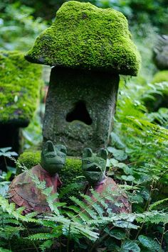 Sasuke Inari shrine, Japan. Original Source Unknown.