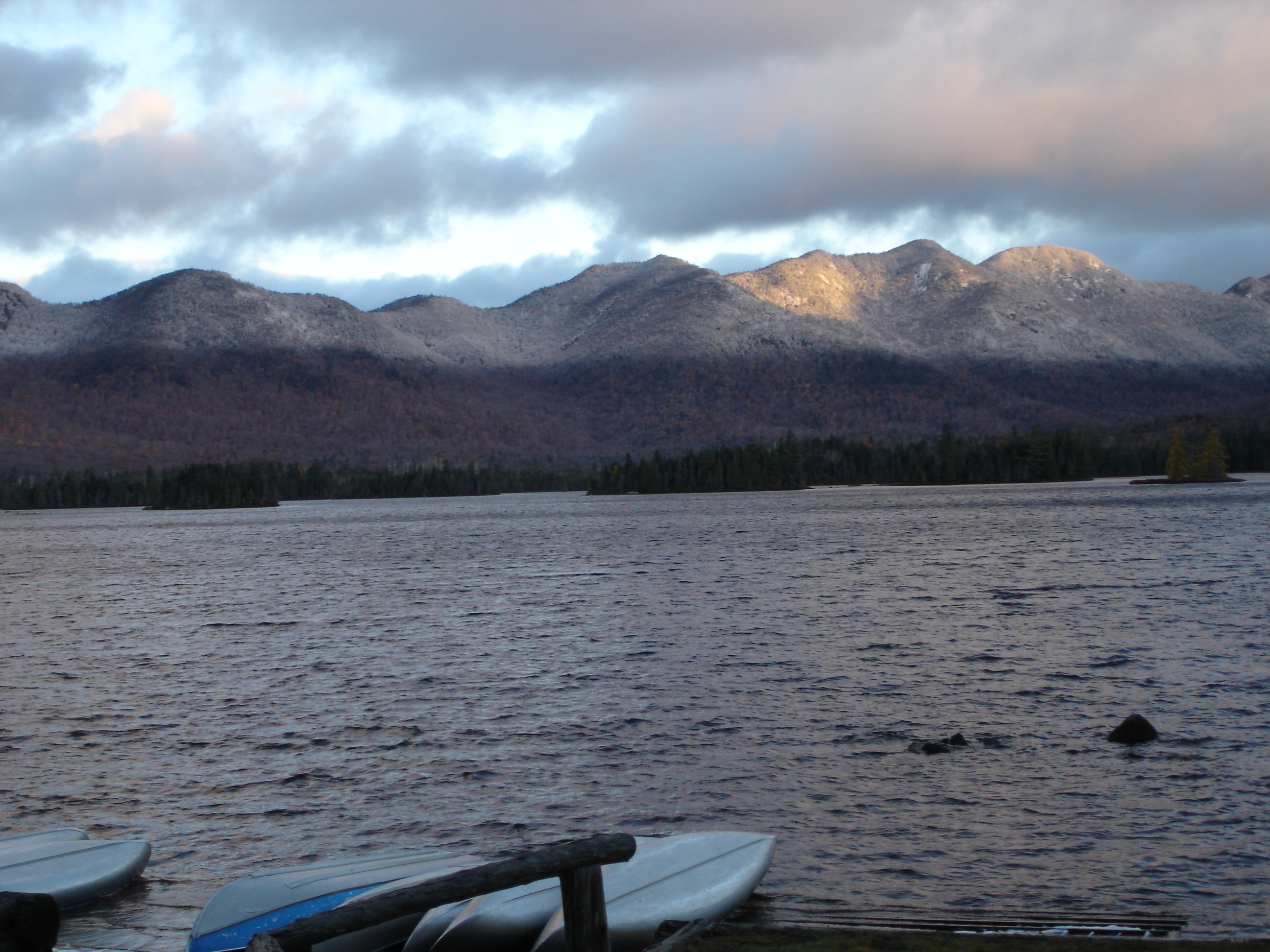View from Elk Lake Lodge