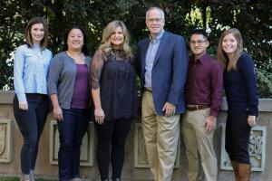 The outstanding staff of Fuller's Max De Pree Center for Leadership, December 2017.