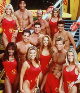 These are the voyages of the Baywatch Enterprise...