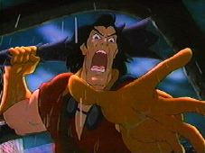 ...and Gaston, it stopped being okay just for villains to be defeated.