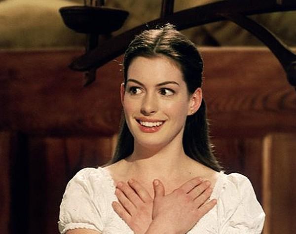 Anne Hathaway as Ella.