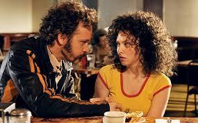 Peter Saarsgaard and Amanda Seyfried in Lovelace.