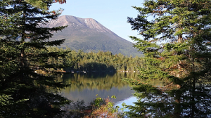 The northern end of the AT, in Baxter State Park, Maine