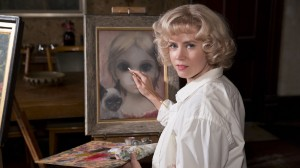 """Amy Adams as Margaret Keane, at the canvas in """"Big Eyes"""""""