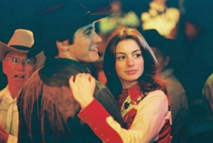 """Jake Gyllenhaal and Anne Hathaway, together in """"Brokeback Mountain"""""""